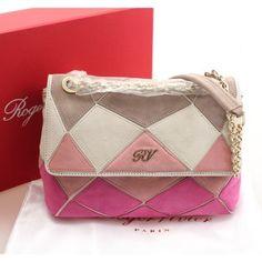 a9822af88789 cheap Roger Vivier Pink Prismick Shoulder Bag PM vivier 227  www.rogerviviershoeshongkong.com roger-vivier-bag.html