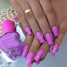 160 best chosen acrylic oval nails design for summer prom and wedding 1 my.ea 160 best chosen acrylic oval nails design for summer prom and wedding 1 my. Magenta Nails, Pink Nails, Toe Nails, Nail Nail, Neon Pink Nail Polish, Coffin Nails, Sexy Nails, Trendy Nails, Perfect Nails