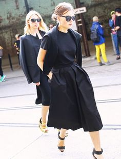 Gaucho Pants: The Perfect Transitional Piece via @WhoWhatWear