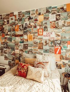 picture wall ideas Estimated to ship in business days due to high demand 150 brand new images in an all-new Coastal Collage Kit. Let dreamy photos of the Amalfi, California, and Bedroom Wall Collage, Photo Wall Collage, Wall Collage Decor, Bedroom Picture Walls, Bedroom Wall Pictures, Wall Picture Collages, Photos On Wall, Teen Wall Decor, Collage Mural