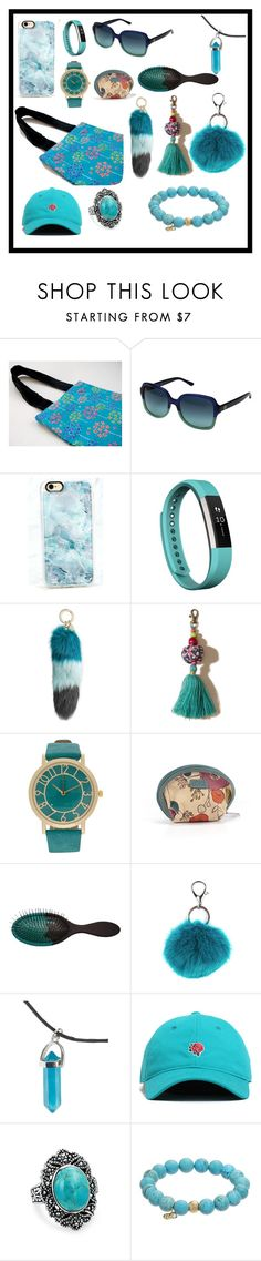 Untitled #474 by bamagirl0320 on Polyvore featuring FOSSIL, TFS Jewelry, Bling Jewelry, Fitbit, Casetify, Carole, Hollister Co., Jocelyn and Tory Burch