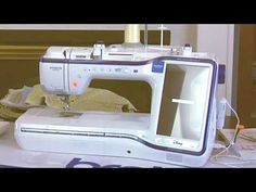Brother Dream Machine Part 1 Brother Dream Machine, Brother Sewing Machines, Sewing Tutorials, Sewing Ideas, Brother Embroidery, Quilt Kits, Machine Embroidery, Quilting, Destiny