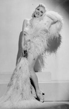 Sally Rand, a family friend. She danced before Presidents and Queens, while my Uncle Richard accompanied on piano.