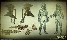 tardes de vicio: Concept Art de Fallout 3