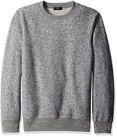 Theory Men's Danen R Marsh Terry Sweatshirt