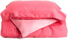Rampage 2-Piece Comforter Set, Twin, Perfect Pink by Rampage, http://www.amazon.com/dp/B005VQG016/ref=cm_sw_r_pi_dp_h4xOqb17TXDPP