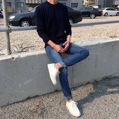 Clean look, always my favorite x style & в 2019 г. Stylish Mens Outfits, Cool Outfits, Casual Outfits, Men Casual, Korean Fashion Men, Mens Fashion, Moda Indie, Indie Outfits, Fashion Outfits