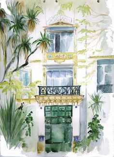 Catherine Rossi, Jardins Hotel El-Djazaïr (ex-Saint-George) 1, 2005