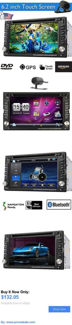 Car Audio Video And GPS: Camera In Dash Gps Navigation Car Dvd Cd Player Audio Video Stereo Mp4 Head Unit BUY IT NOW ONLY: $132.05 #priceabateCarAudioVideoAndGPS OR #priceabate