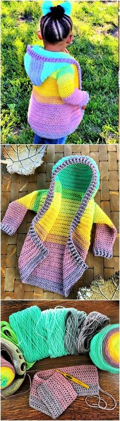DIY-Child-Size-Hoodie-free-crochet-pattern-Ideas. (2)
