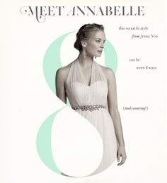 Meet Annabelle our newest bridesmaid style