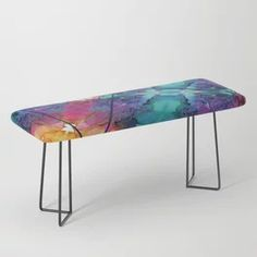 Into the Mist Bench Beautiful Paintings Of Nature, Paintings I Love, Nature Paintings, Watercolor Paintings, Glassell School Of Art, Bedroom Artwork, Artwork Ideas, Shape And Form, Cool Walls
