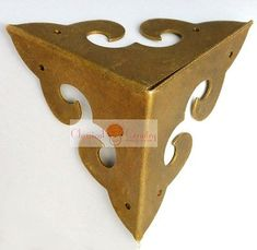 4 Corners Chinese Furniture Hardware Brass for Cabinet Trunk Jewelry Box Chest
