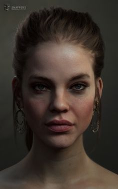 Barbara Palvin, Galal Mohey on ArtStation at https://www.artstation.com/artwork/YEZAb