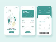 Airline Ticket Booking Mobile App UI by Milon Ahmed Web Design, App Ui Design, Mobile App Design, Site Design, App Development Cost, Mobile App Development Companies, Mobile Application Design, Mobile Application Development, Air Ticket Booking