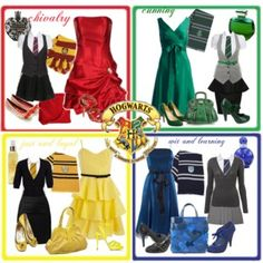 sexy hogwart girl | HARRY POTTER OUTFITS - Polyvore
