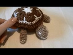TUTO AMIGURIMI Tortue en Granny - YouTube