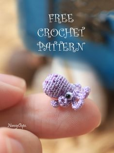 free crochet pattern tiny octopus : Free pattern crochet octopus amigurumi by N. Crochet Animal Amigurumi, Crochet Animal Patterns, Amigurumi Patterns, Crochet Dolls, Easy Crochet Animals, Amigurumi Doll, Preemie Crochet, Crochet Gratis, Cute Crochet