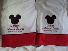 2 DISNEY CRUISE  Mickey Mouse  Autograph by countrycustoms on Etsy, $77.99