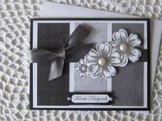 Handmade Greeting Card Wedding/Formal Affair by ConroysCorner, $4.00