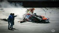 Bristol..two terrifying crashes