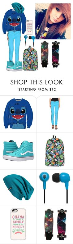 """Kassidy"" by otaku-panda33 ❤ liked on Polyvore featuring EAN 13, Vans, Disney, Patagonia, Skullcandy and Casetify"