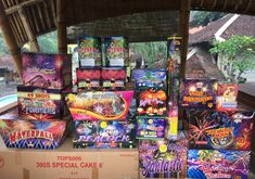 Tirtania Fireworks 2017