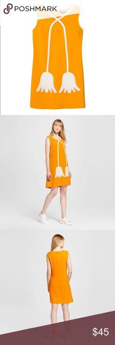 Victoria Beckham for Target Marigold Shift Dress Marigold shift dress, NWT, size medium Victoria Beckham Dresses Mini
