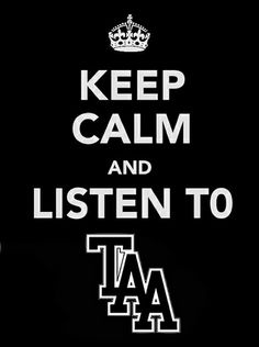 Keep Calm And Listen To The Amity Affliction |