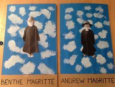 Kunstwerke rund um René Magritte artdecokunst digitalekunst kreativekunst kunstacryl k. , artdecokunst digitalekunst kreativekunst kunstacryl kunstak K Rene Magritte, Montessori Art, 3rd Grade Art, Ecole Art, Art Lessons For Kids, Fantasy Kunst, Anime Kunst, Art Programs, Art Classroom