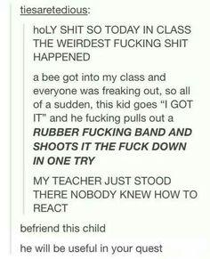 Befriend this kid, tumblr funny