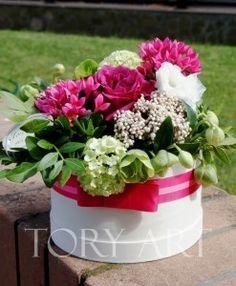 """Цветы в коробке """"Для души"""""""