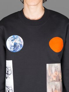 RAF SIMONS X STERLING RUBY REGUALR FIT SWEATER WITH EARTH STALACITE PRINT Hipster Style, Hipster Fashion, Mens Fashion, Sterling Ruby, Gareth Pugh, Saint Laurent Paris, Raf Simons, Androgynous, Cool Eyes