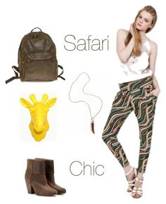 """""""Safari Chic"""" by edressme ❤ liked on Polyvore featuring Camel Active, rag & bone, Trina Turk, eDressMe, women's clothing, women's fashion, women, female, woman and misses"""