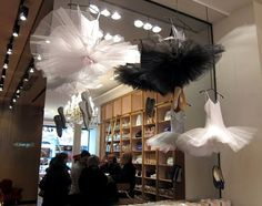 Repetto ballet shop...tutus on display
