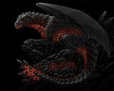 flame Dragon - dragons Wallpaper