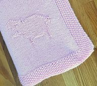 This is a blanket for the novice or intermediate knitter. Knit in a soft pink the hippos are stacked in pyramid fashions - 4 hippos on the bottom, 3 hippos above them, 2 hippos above the 3, and finally one lonely hippo on top.