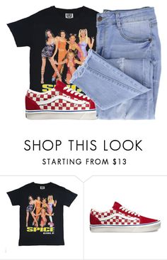 """""""Rojo x Rico Nasty"""" by shilohluvsu ❤ liked on Polyvore featuring Vans and Essie"""