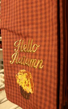 Hello Autumn we missed you!
