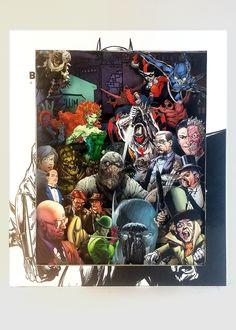Gotham City Comic Book Sculpture