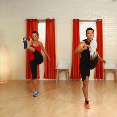 10 min cardio kick boxing workout