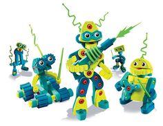 Robot Invasion by Bloco - $27.95