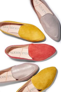 Comfortable smoking slippers that look incredible with denim and dresses | Sole Society Sean: