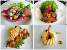 Good Vietnamese European fusion food aboard our luxury Halong Bay Cruise with The Au Co