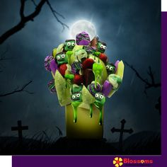 scent free fruit bouquet are great for all occasions and make great gifts ideas or decorations from a proud Canadian Company. Great alternative to traditional flowers or fruit baskets Halloween Decorations, Halloween Party, Edible Bouquets, Free Fruit, Fruit Arrangements, Blossoms, Coupons, Baskets, Great Gifts