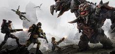Evolve Behemoth hunt