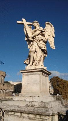 Eine Figur in der Nähe der Engelsburg in Rom. #rom #roma #italy #boardoramio