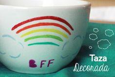 ¡Regalo Perfecto! Taza personalizada   dulces ¡Yo amo mi nueva taza!