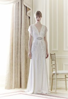 SOLD Jenny Packham Florence Size 12 at Second Summer Bride Austin, Texas