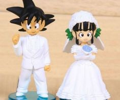 Dragon Ball Z Wedding Cake Toppers